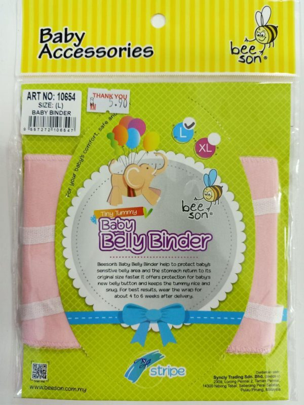 10654 BEESON B/BELLY BINDER – STRIPE