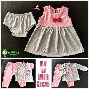 Baju Bayi Perempuan – Antz Baby
