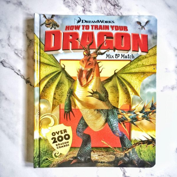 Children's Book: How To Train Your Dragon – Mix & Match