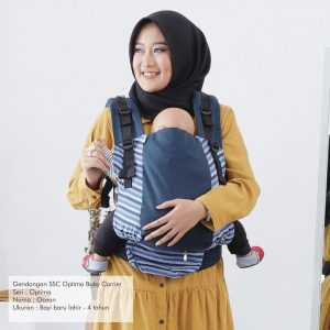 NaNa Optima SSC Ergonomics Baby Carrier – (Ocean)