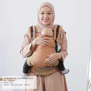NaNa Optima SSC Ergonomics Baby Carrier – (Soil)