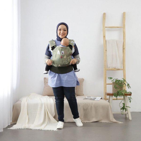 NaNa SSC Ergonomics Baby Carrier – STANDARD SIZE (Arfak Forest)