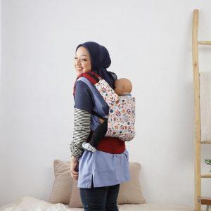 NaNa SSC Ergonomics Baby Carrier – STANDARD SIZE (Protea)
