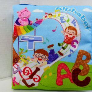ABC Soft Cloth Book | Buku Kain
