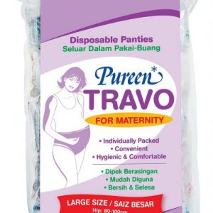DMP003 PUREEN TRAVO FOR MATERNITIY PANTIES L 5'S