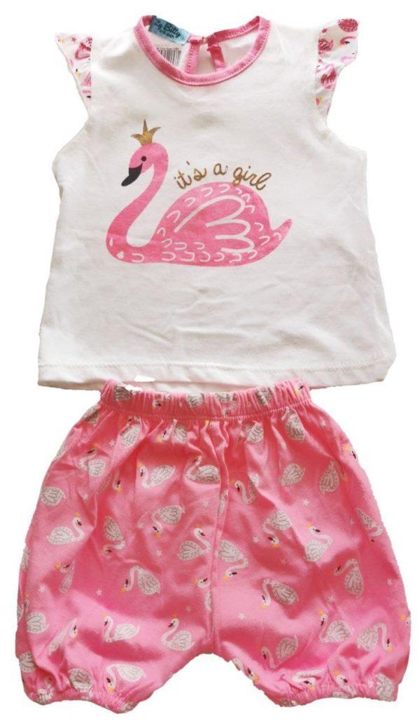 KA Girl SS with SP Pink Swan