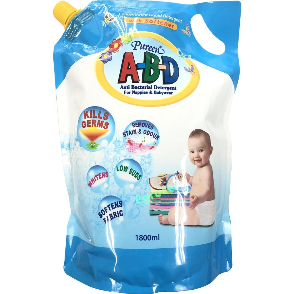 Pureen ABD Detergent Refill Pack 1800ml