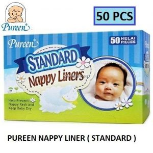 Pureen Standard Nappy Liners 50's