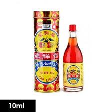 Yu yee Oil Cap Limau 10ml
