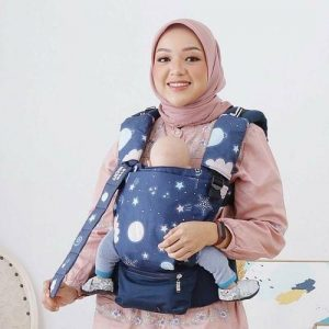 NaNa Optima SSC Ergonomics Baby Carrier – (Cloud Night)