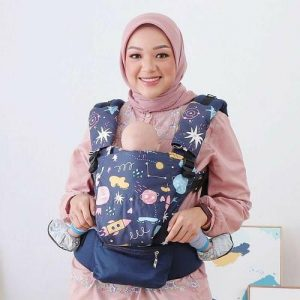 NaNa Optima SSC Ergonomics Baby Carrier – (Galaxy Night)