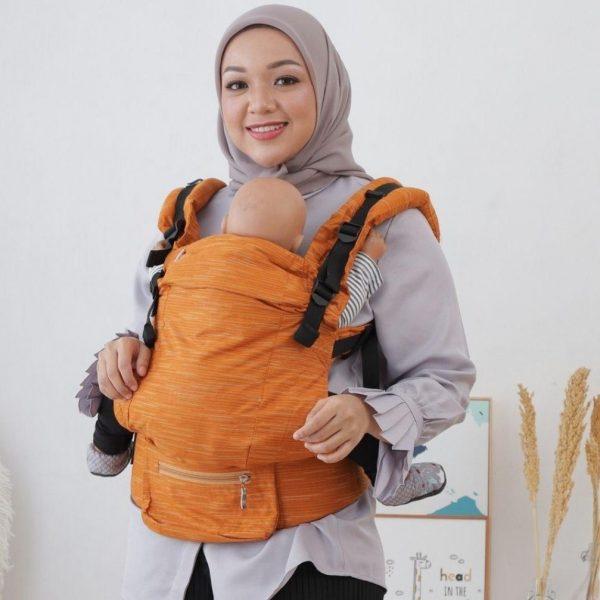 NaNa Optima SSC Ergonomics Baby Carrier – (Waluh)