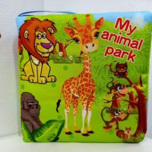 My Animal Park Soft Cloth Book | Buku Kain