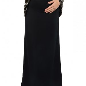 Skirt Ibu Hamil Maternity A-LINE (Black)