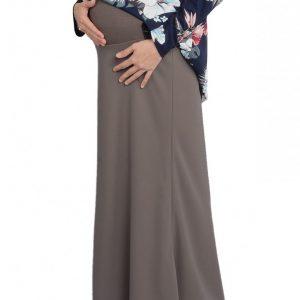 Skirt Ibu Hamil Maternity (Grey)
