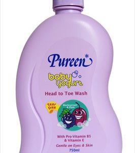 Pureen Baby Yogurt Head to Toe (Blackcurrent & Plum) 750ml