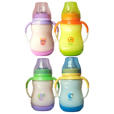 Pureen Wide Neck Bottle with Handle BAFBO6