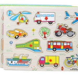 Wooden Puzzle Transportation